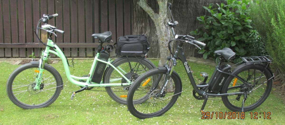 A good couple: Volto and Evinci Tui side by side