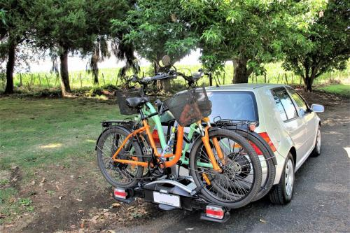 Safe and secure - Thule ebike rack.